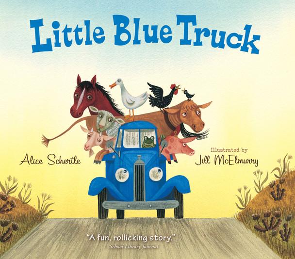 Little Blue Truck Board Book - Cover