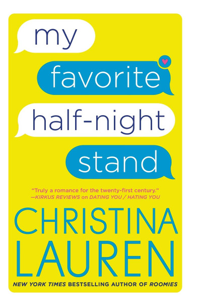 My Favorite Half-Night Stand - Cover