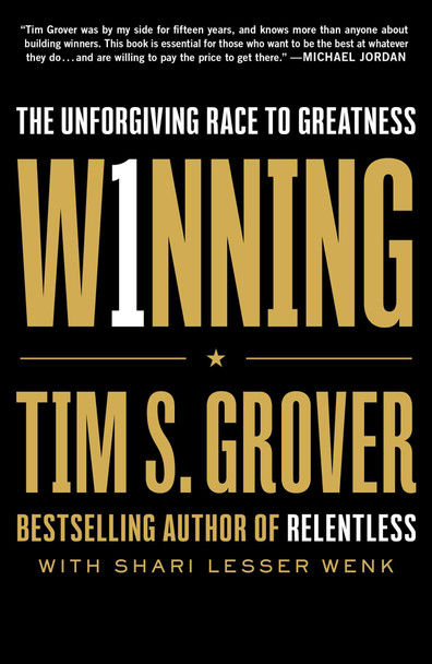 Winning: The Unforgiving Race to Greatness - Cover
