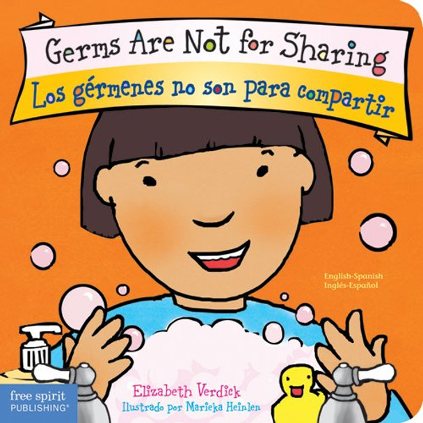 Germs Are Not for Sharing/Los Gérmenes No Son para Compartir - Cover