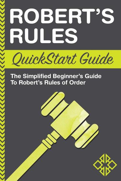 Robert's Rules QuickStart Guide - Cover