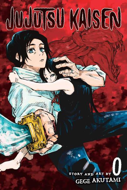Jujutsu Kaisen 0 - Cover