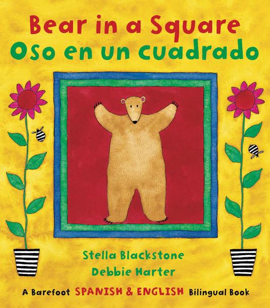 Bear in a Square/Oso En Un Cuadrado - Cover