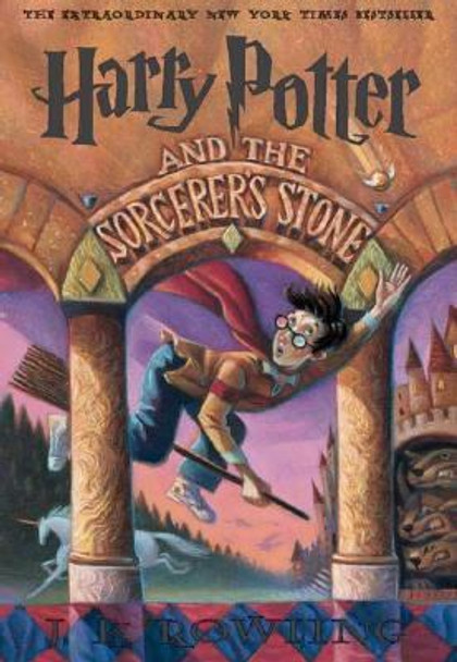 Harry Potter And The Sorcerer's Stone (Turtleback School & Library Binding Edition) Cover