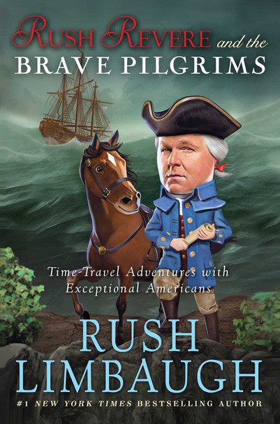 Rush Revere and the Brave Pilgrims - Cover