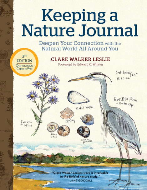 Keeping a Nature Journal, 3rd Edition: Deepen Your Connection with the Natural World All Around You - Cover