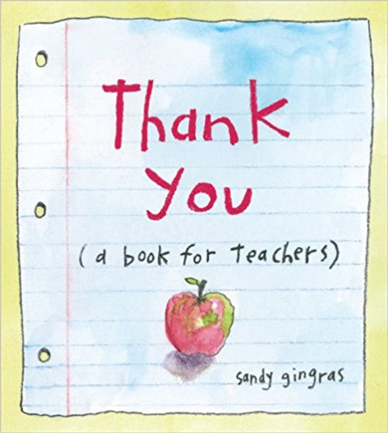 Thank You: (A Book for Teachers) Cover