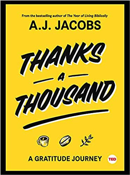 Thanks a Thousand: A Gratitude Journey (Ted Books) Cover