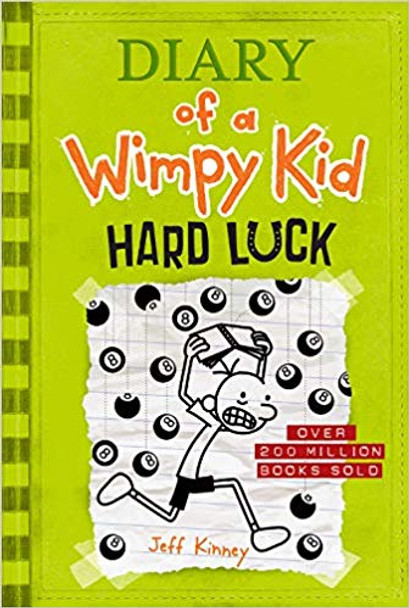 Hard Luck (Diary of a Wimpy Kid #8) Cover