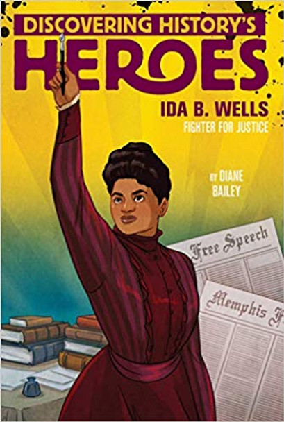 Ida B. Wells: Discovering History's Heroes (Jeter Publishing) Cover
