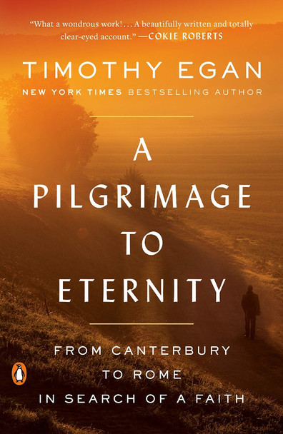 A Pilgrimage to Eternity: From Canterbury to Rome in Search of a Faith Cover