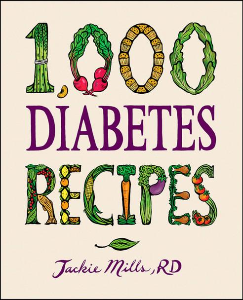 1,000 Diabetes Recipes Cover