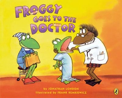 froggy goes to the doctor books
