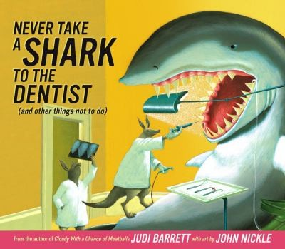 never take a shark to the dentist books