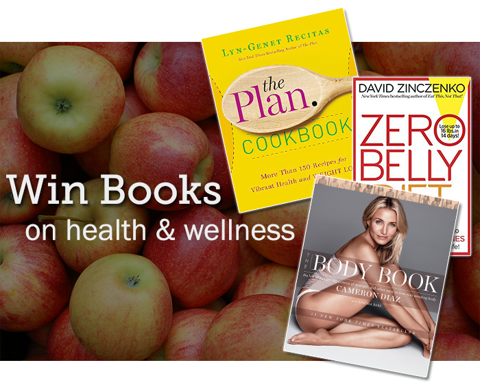 Health Books Giveaway