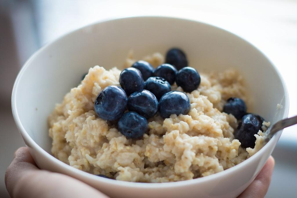 blueberries-oatmeal