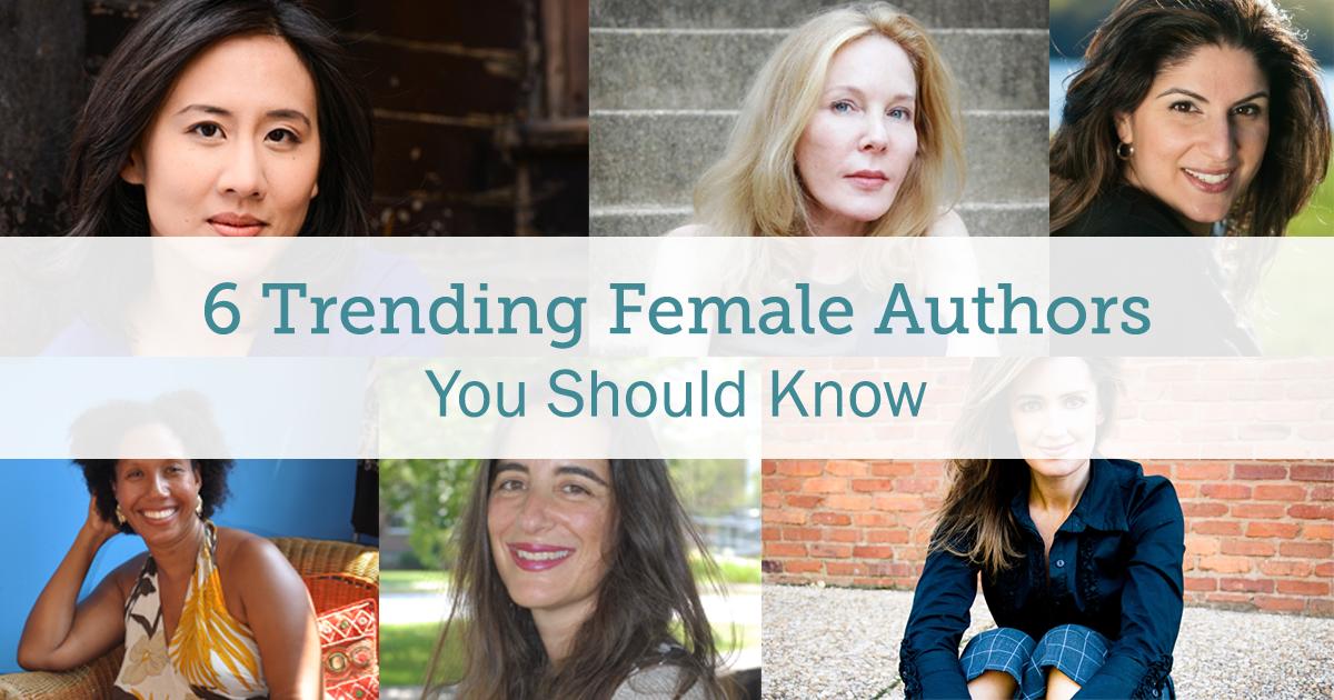trending female authors - bookpal