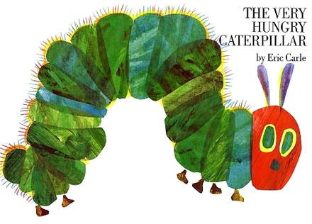 The Very Hungry Caterpillar classroom book set