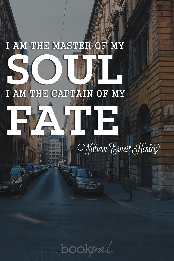 henley poetry quote