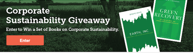 corporate sustainability book giveaway