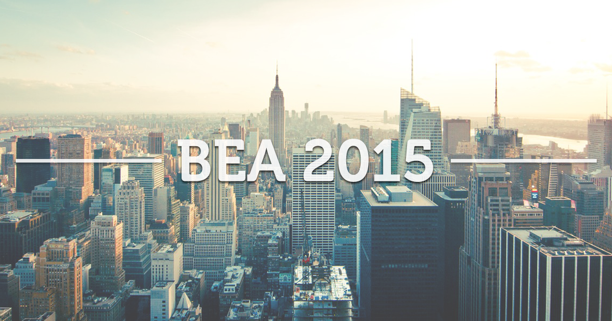 reasons to attend BEA 2015