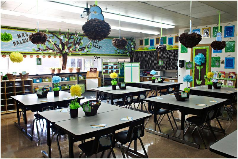 Elementary School Teachers Classroom