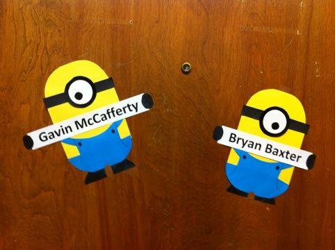 minion name tags