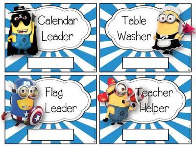 minion classroom management