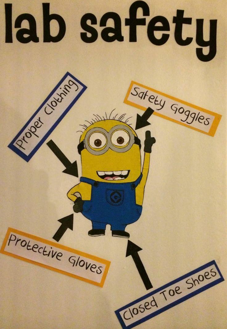 lab safety minions