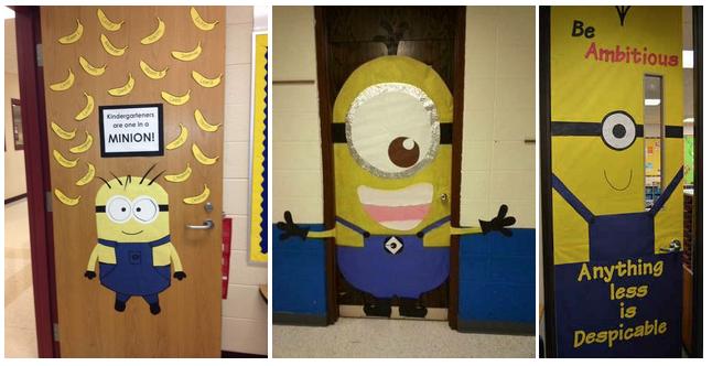 minion classroom doors