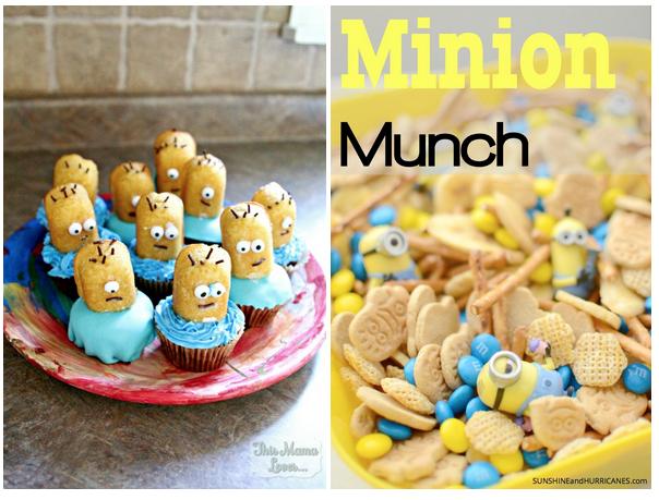 minion cupcakes desserts