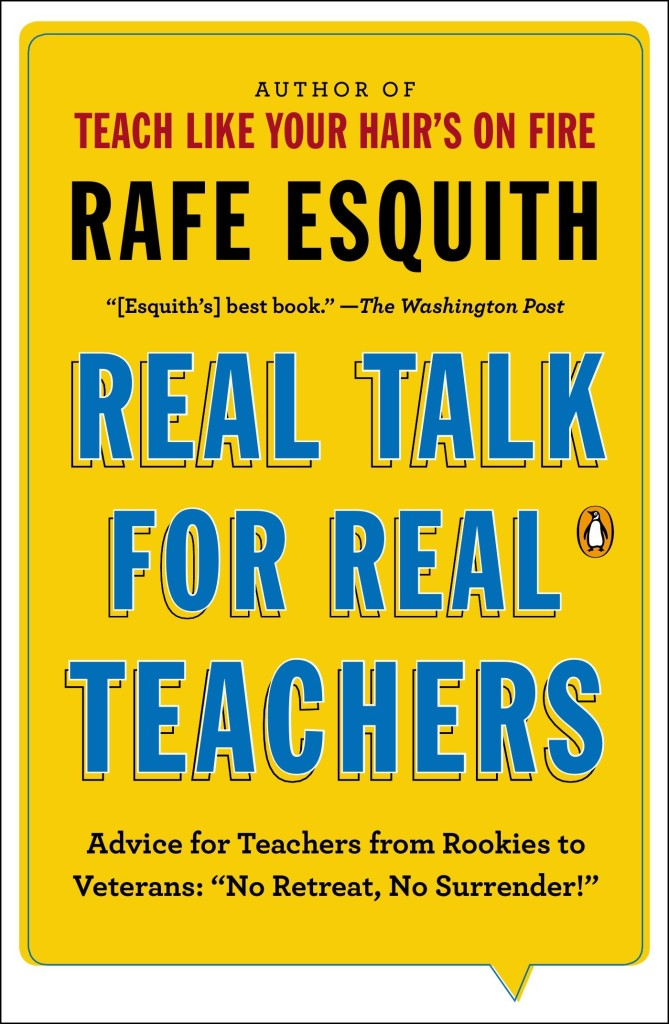 real talk for real teachers book