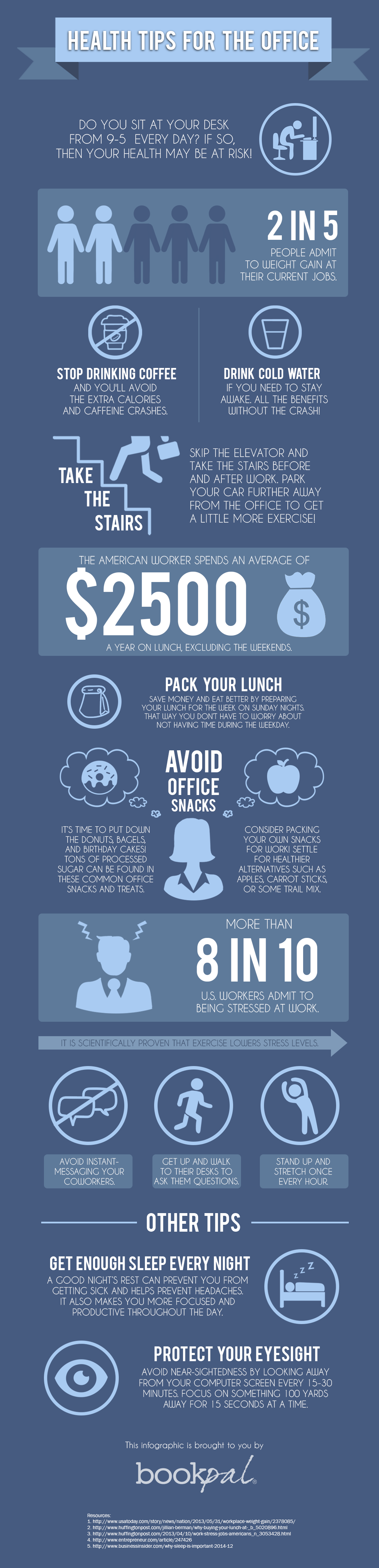 Office Health Infographic
