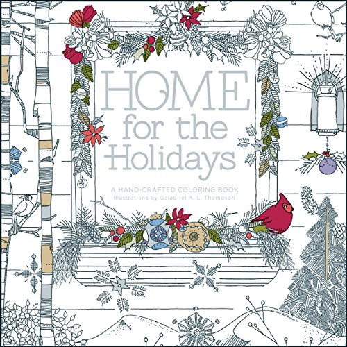 home for the holidays coloring book in bulk