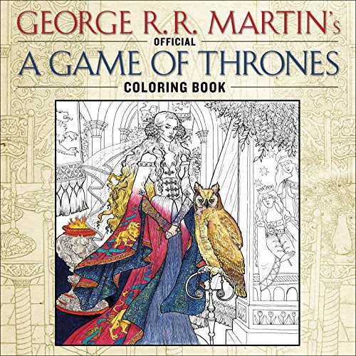 game of thrones coloring book for adults