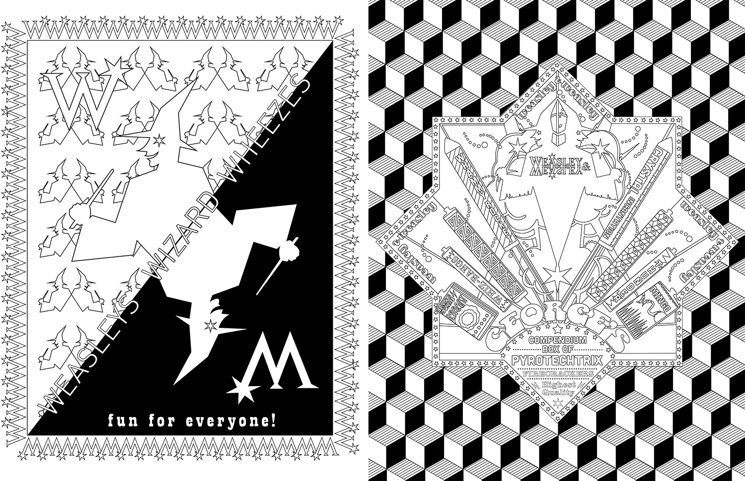 harry potter coloring templates