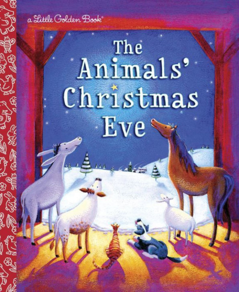the animals' christmas eve little golden book