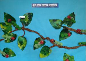 Very Hungry Caterpillar: Spring Bulletin Board