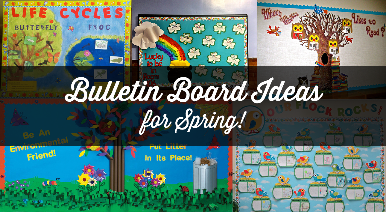 9 Fun Spring Bulletin Boards For Your Classroom Bookpal
