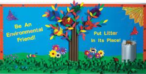 Environmentally Friendly: Spring Bulletin Board