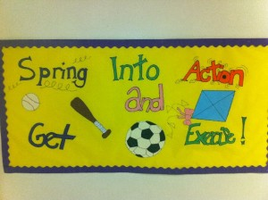 exercise: Spring Bulletin Boards