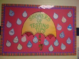 showers: spring bulletin boards
