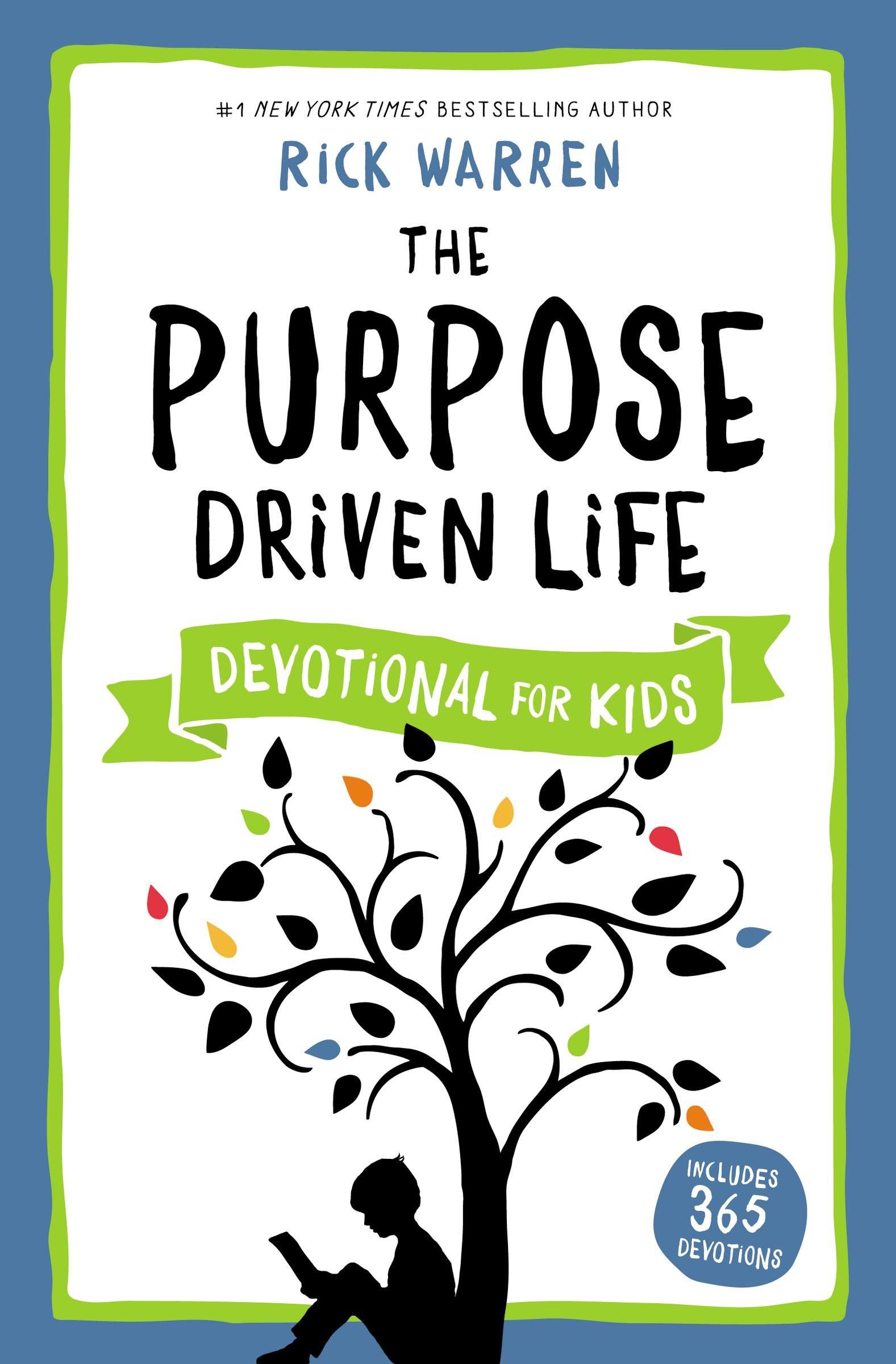 purpose driven life devotional for kids