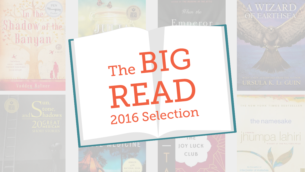 2016 big read books
