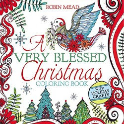 A Very Blessed Christmas Coloring Book