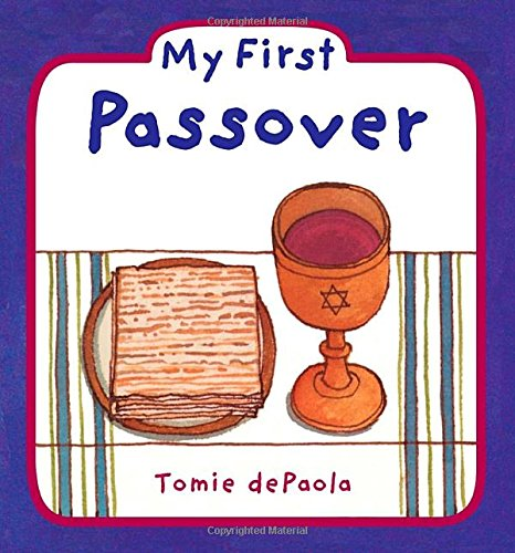 my first passover books
