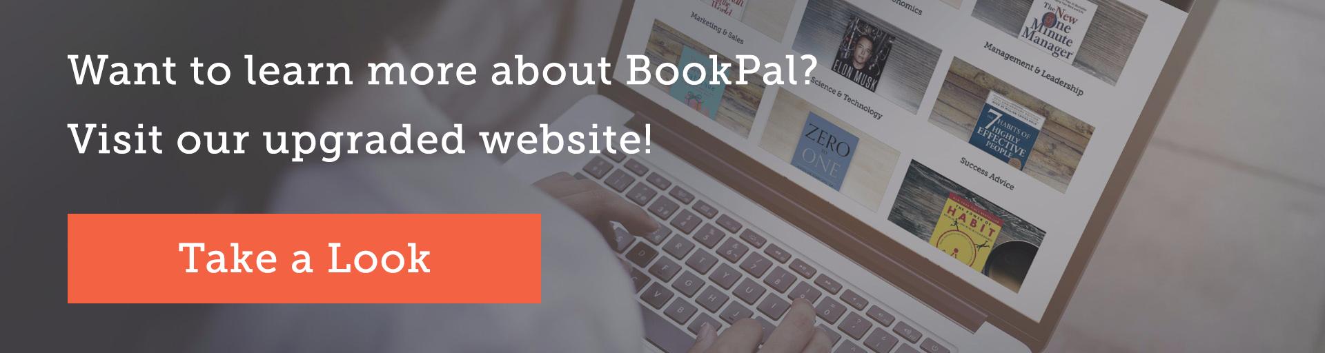 BookPal website cta