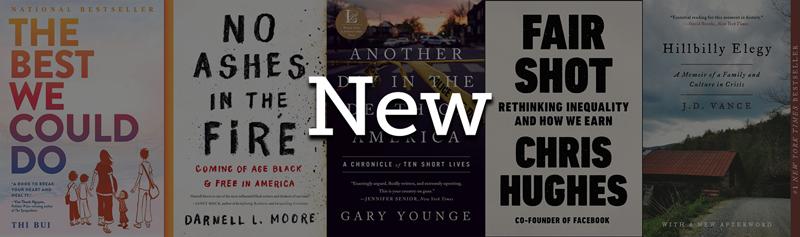 New FYE Books