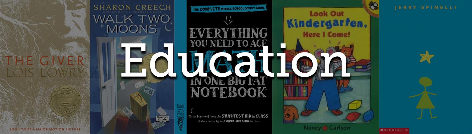 Education Bestsellers List