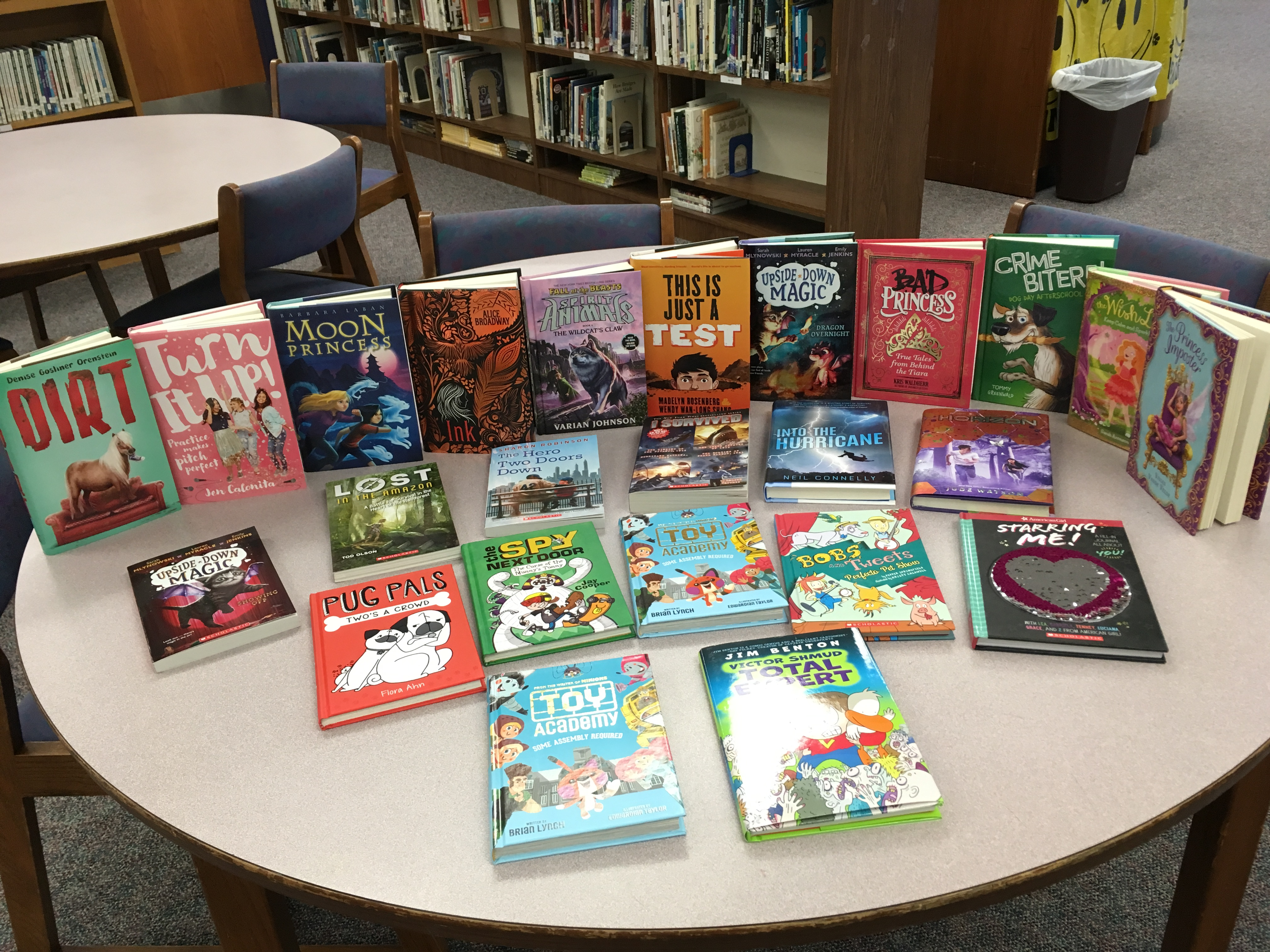 New books for WLMS!